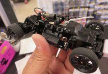 ミニッツレーサーMM/MR-03シャーシのモーターを交換しますッ!!