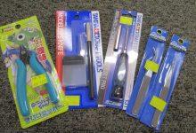 ミニ四駆を作る時に必要な工具のご紹介!!