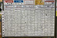 9月度常設コース・タイムアタック結果発表で~す!!