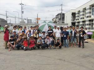 ミニ四駆大会 8月24日