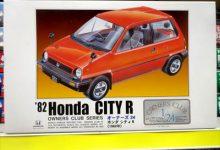 クルマのCMとカーモデルのキット