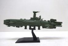 バンダイのメカコレクション「ガイゼンガン兵器群・カラクルム級戦闘艦」キットレビュー。その2