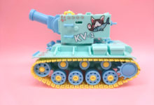 【サンプルご紹介】童友社 カラフルキュートタンク No.1  KV-2(ロシア)