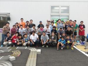 ミニ四駆大会 2015年8月24日
